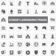 Website Iconset - Landmark Travel 44 Basic Icons