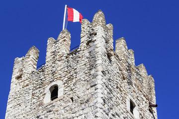 Castello di Drena, Trento, color image