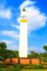 Clock tower in Jatujak park