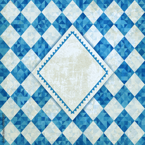 Oktoberfest retro background - vector illustration