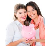 Women with their savings