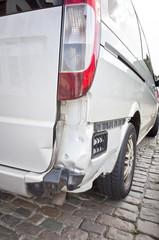 Beschädigtes Auto