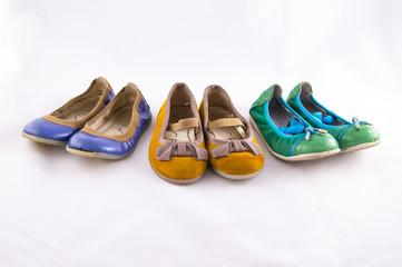 Exposicion zapatos infantiles