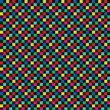Fabric Texture Polka Dot Pattern Vector