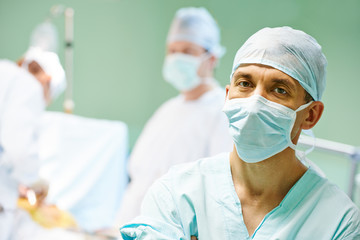 Male surgeon portrait