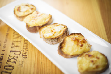 cheese toast starter snack