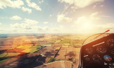 glider flying
