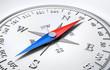 Weisser Kompass