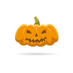 Pumpkin isolated on a white backgrounds
