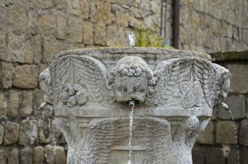 Angioletto della fontana, Viterbo 2