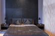 Sparkling bedroom detail