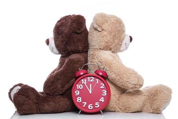 Konzept mit Teddybären - Eheberatung oder Paartherapie