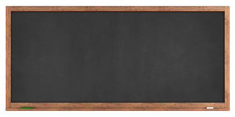 Blank retro blackboard