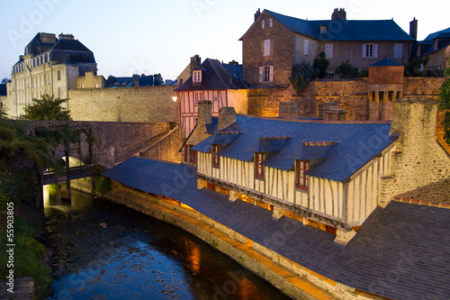Public washing-places in Vannes, France
