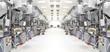 Leinwanddruck Bild - High Tech Manufacture