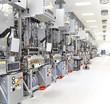 Microchopindustrie Fertigungsanlage // high Tech industry