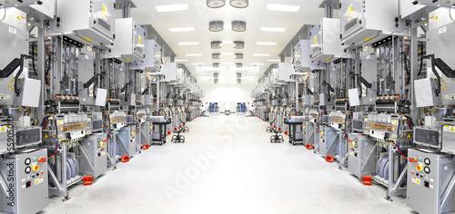 Leinwandbild Motiv High Tech Manufacture