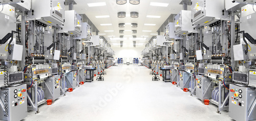 Fotobehang Industrial geb. High Tech Manufacture