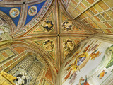 Ceiling of Baroncelli Chapel in Basilica di Santa Croce.
