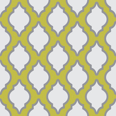 Seamless pattern in arab style for web design or home decor