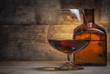 Fototapety Gognac glass