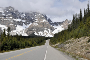 Icefields Parkway, Highway 93, Alberta (Canada)