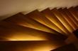 canvas print picture - beleuchtete treppe v2 I