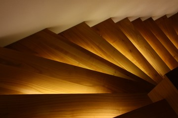 beleuchtete treppe v2 I