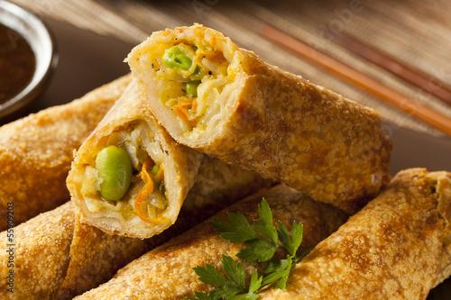 Homemade Chinese Vegetable EggRolls