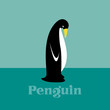 Vector image of an penguin.