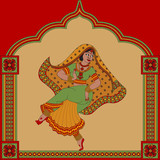 Indian woman dancer