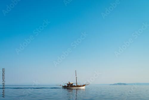Fototapeten,schiff,meer,kreuzfahrt,horizont