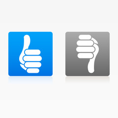 Icon Like Thumb Up Down Buttons web