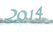 2014, cailloux blancs