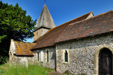 St Peters Church, Rodmell in East Sussex