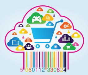 commerce en ligne sur le web