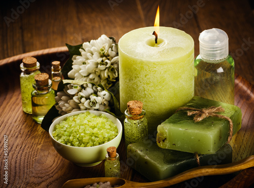 canvas print picture Green spa