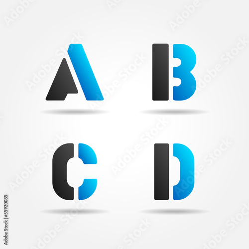 ABCD blue