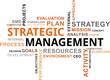 word cloud - strategic management