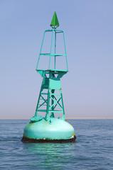 Balise maritime flottante