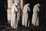 Monks in darkness