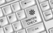 Tastatur Wintercheck