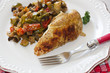 poulet et ratatouille