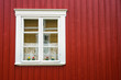 Cute Window of Wooden House