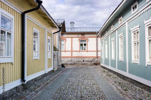 Wooden Housing in Rauma, Finland - UNESCO World Heritage site
