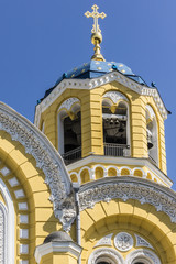 St. Vladimir Cathedral (Volodymyrsky Cathedral). Kiev, Ukraine.