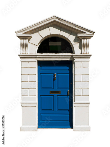 Irish building door