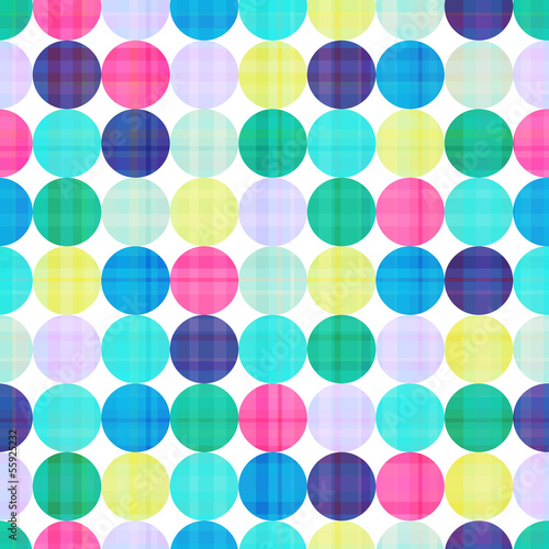 seamless circles background texture © creative_stock