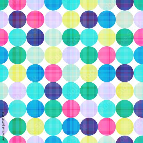 seamless circles background texture © creative_stock