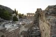 Вид на улицу Куретов и библиотеку Цельсия в Эфесе